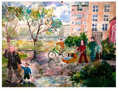 Проект «Родной город (село)» - Плешаков 2 класс 1 часть. Рабочая тетрадь