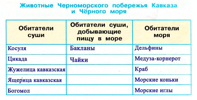 Схема питания характерная для черноморского побережья кавказа фото 701