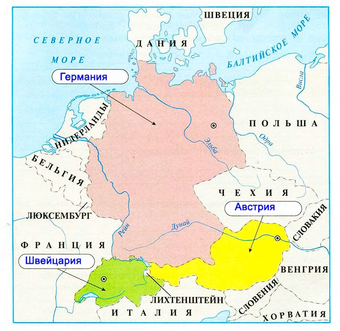 В центре Европы