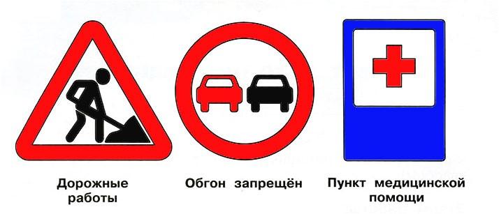 Дорожные знаки - Плешаков 3 класс 2 часть. Рабочая тетрадь