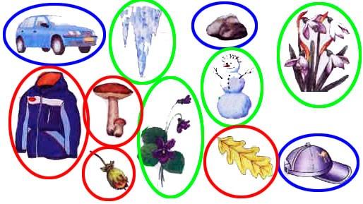 § 8. Осень: природа готовится к зиме - Вахрушев 1 класс. Рабочая тетрадь