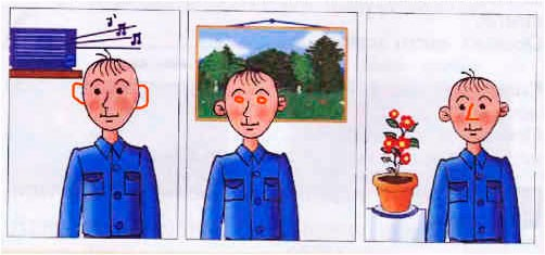 § 9. Наши помощники - органы чувств - Вахрушев 1 класс. Рабочая тетрадь