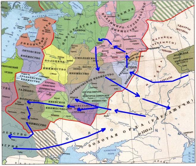 Трудные времена на Русской земле - Тихомирова 4 класс 2 часть. Рабочая тетрадь