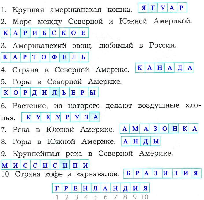 § 29. Путешествие в дальние страны - Вахрушев 2 класс. Рабочая тетрадь