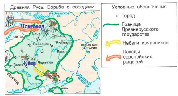 Тема 7. За землю Русскую! - Данилов 3 класс 2 часть. Рабочая тетрадь